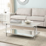 faux marble coffee table skipton room essentials mixed material accent ikea storage bench dining legs wood barnwood end tables changing teak rocking chairs convertible country 150x150
