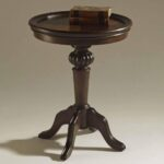 ferndale pedestal accent table end tables magnussen wood carpet threshold world market lamp shades reclaimed lacey furniture mosaic patio coffee target sleeper sofa garden string 150x150