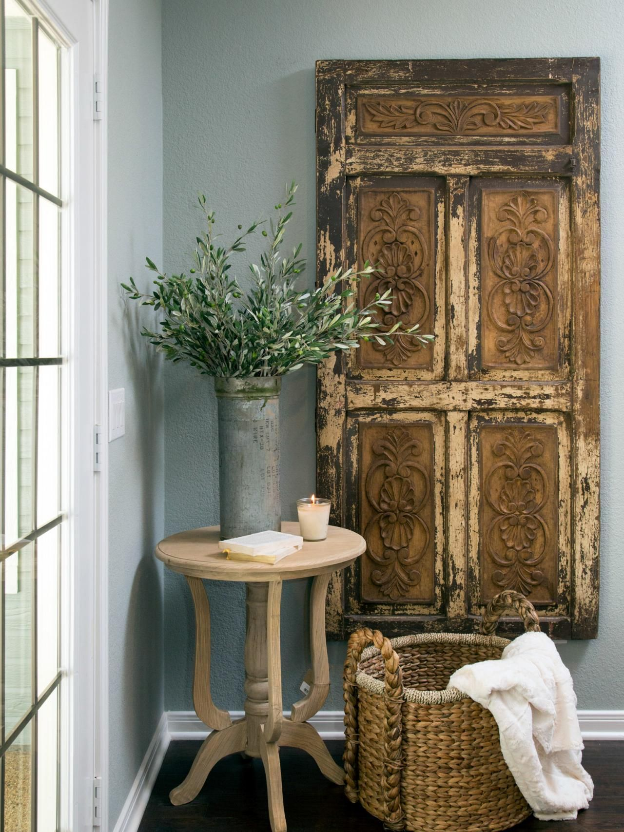 fill your walls with fixer upper inspired artwork easy copy galvanized metal accent table blank problem borrow some these unconventional wall art and decor tips ideas from