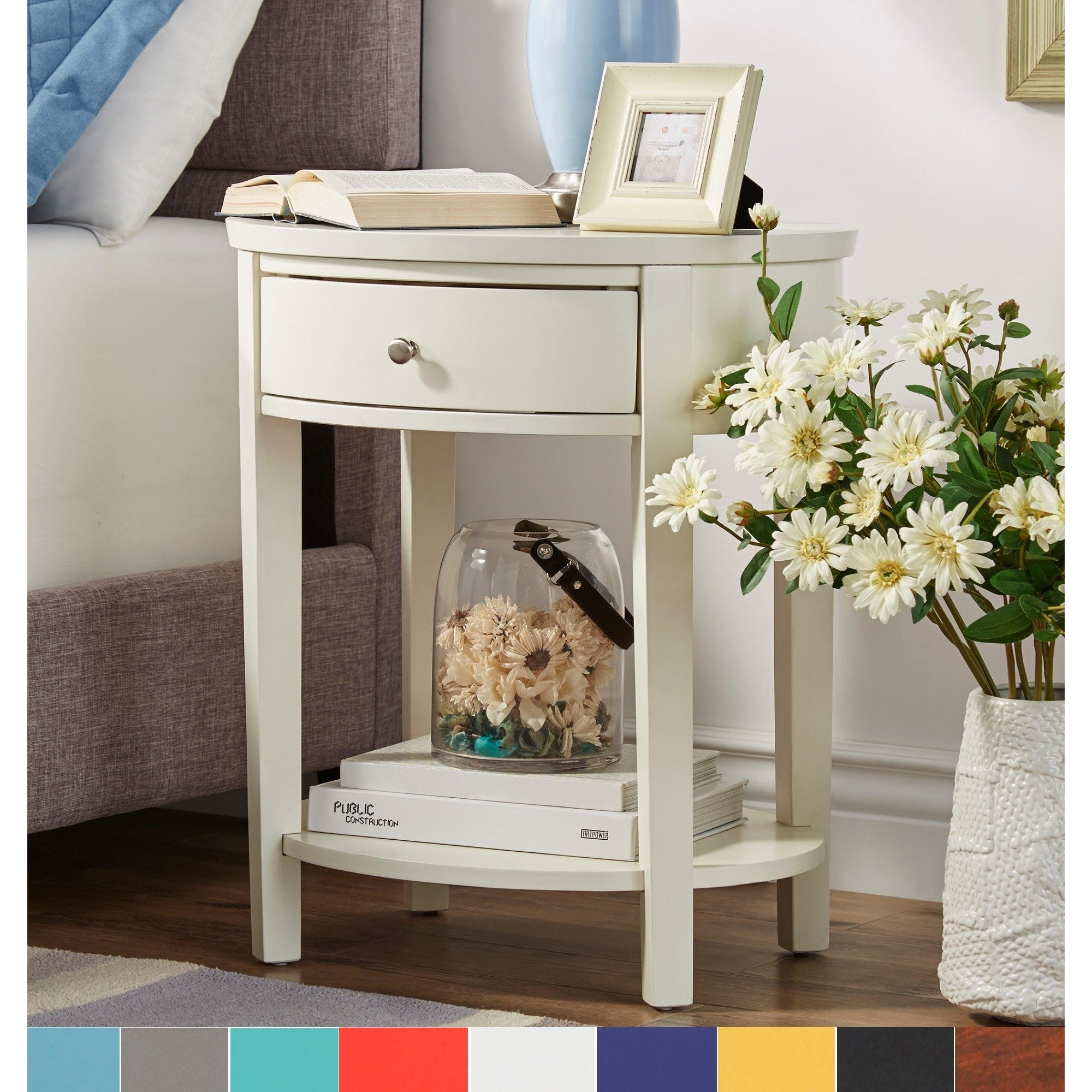 fillmore drawer oval wood shelf accent end table inspire bold nursery half wall dining room linens drop leaf tables for small spaces round pedestal entry apartment furniture