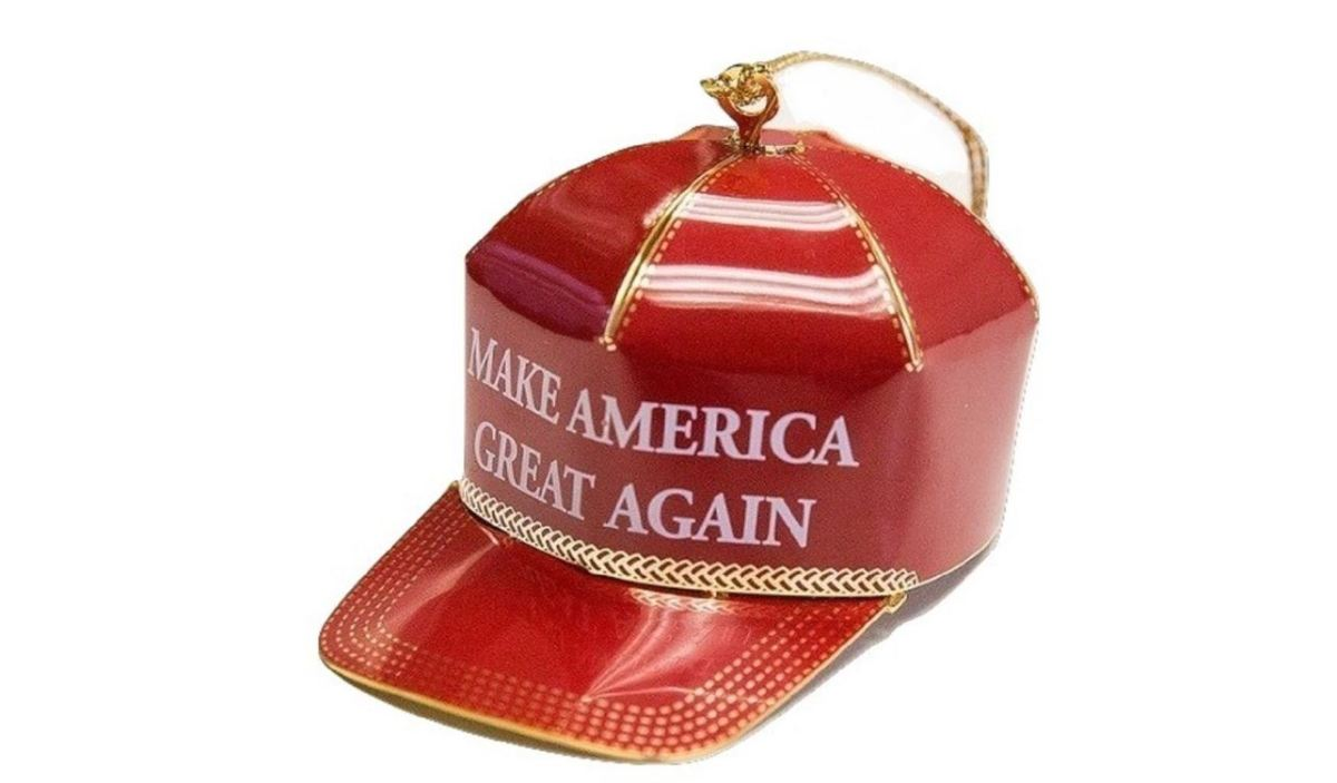 financial english created maga ornament avani drum accent table sophie tatum cnn being sold receiving some unique criticism because its political nature amazing coffee tables