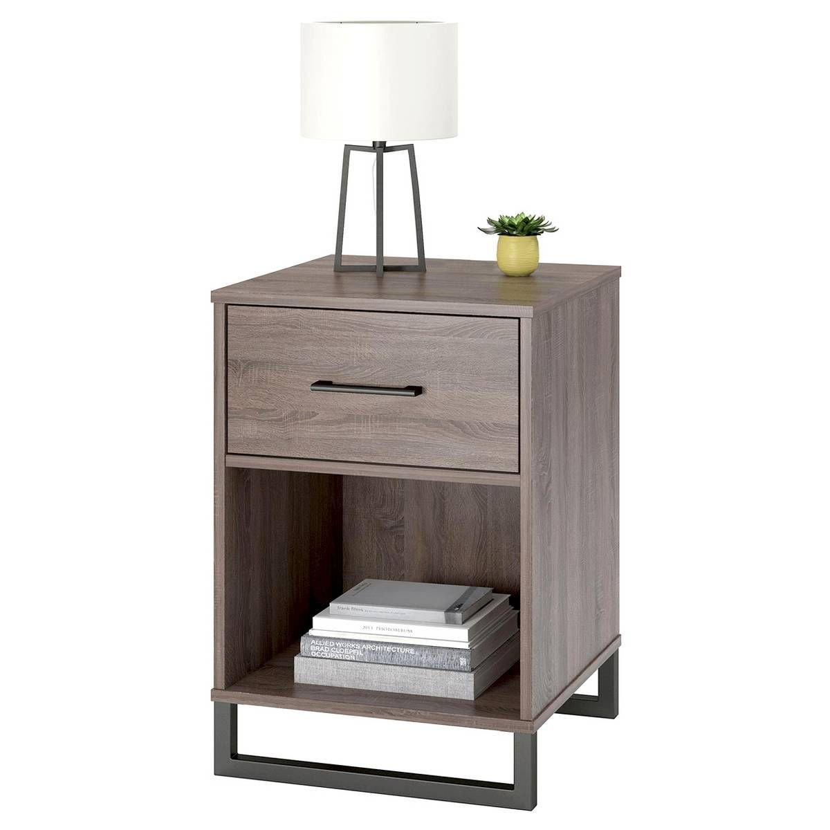 find product information ratings and reviews for mixed material room essentials accent table nightstand brown target raw wood side victorian living furniture foot long console