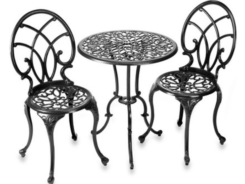 findingwinter page contemporary backyard with kids victorian style patio makeover piece cast iron furniture bath beyond ornate round accent table top fleur lis decorate back chair