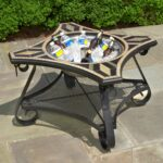 fire pit cooler table pits elegants and comfort all outdoor patio furniture for side with seasons your mccmatricschool pottery barn kitchen sets bags dale tiffany glass hammered 150x150