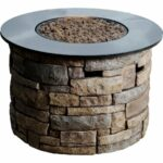 fire pits outdoor bowls tables lowe side table canadian tire canyon ridge btu round liquid propane gas pit square marble tops cordless lamps for living room cherry wood dinner sei 150x150