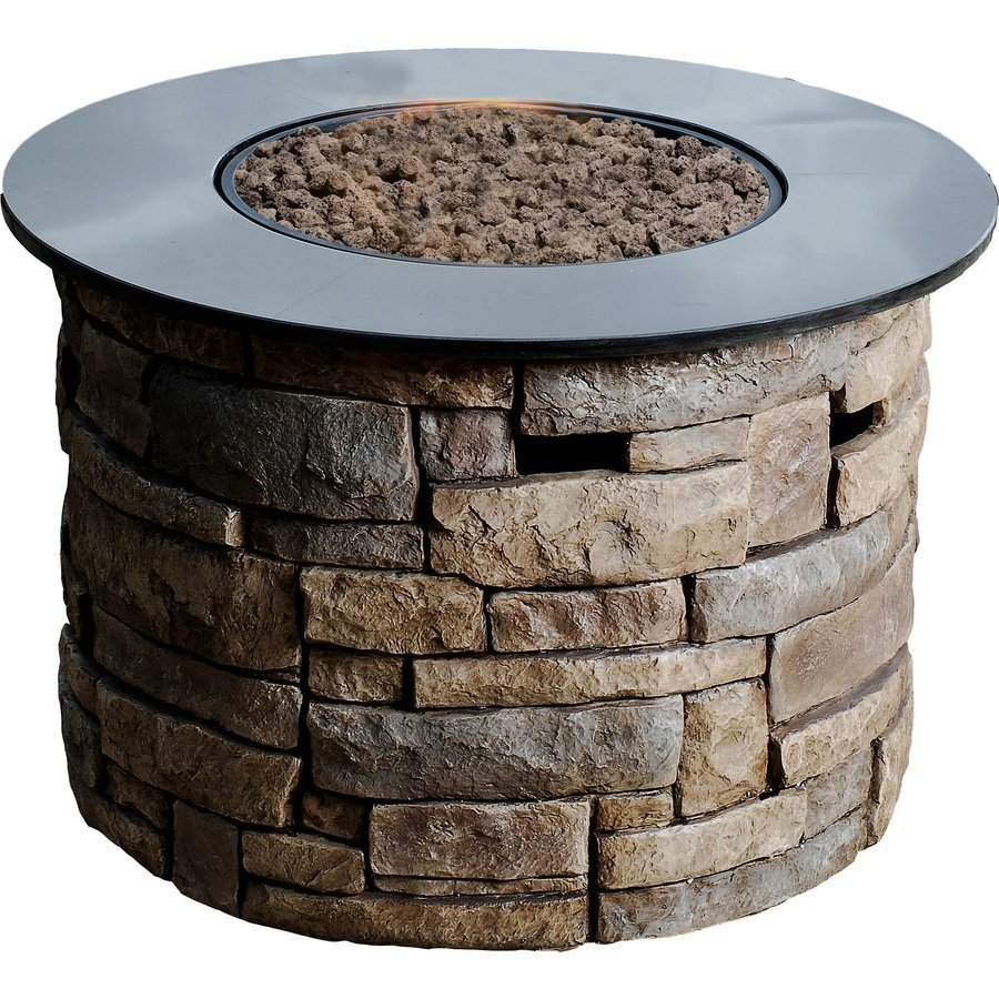 fire pits outdoor bowls tables lowe side table canadian tire canyon ridge btu round liquid propane gas pit square marble tops cordless lamps for living room cherry wood dinner sei
