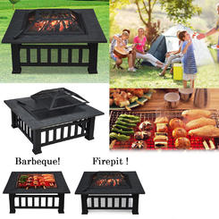 fire pits tables sears prod outdoor accent clearance winado homes and gardens metal firepit backyard patio garden square stove pit round bar table stools cover kitchen curtains