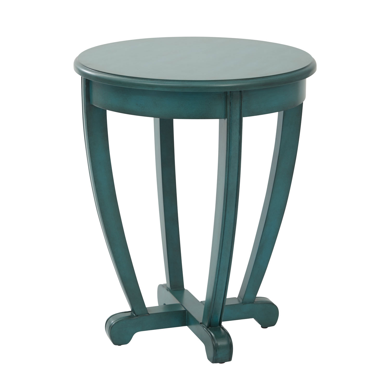 first grace blue accent table bellacor teal clear plastic pendant lighting target lounge chairs mirrored tray console with drawers bronze glass coffee square lucite modern nesting