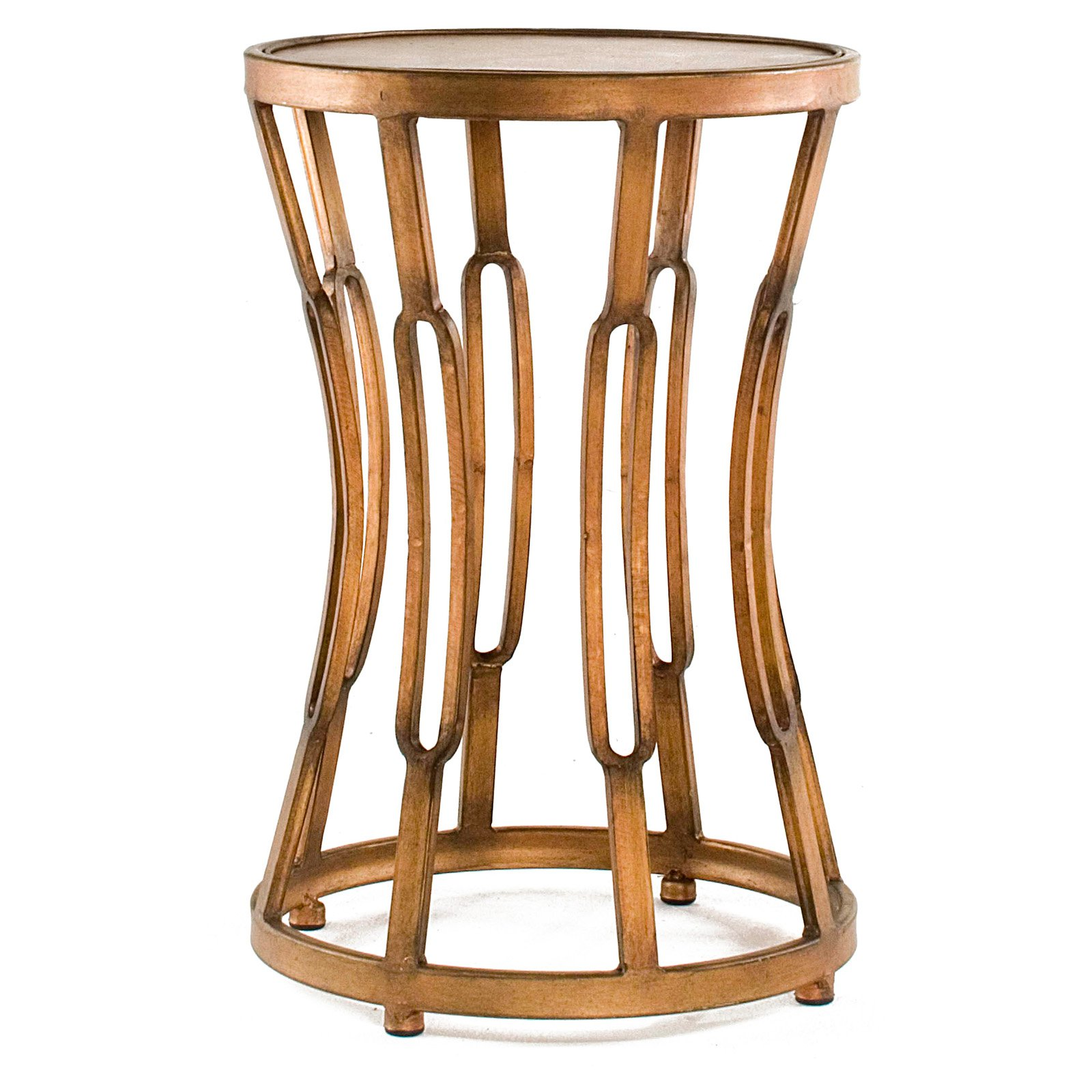 firstime hourglass accent table antique copper inuse pier runner cool lamps lamp with dimmer black half round console steel end ikea coffee kidney shaped side outside cover small