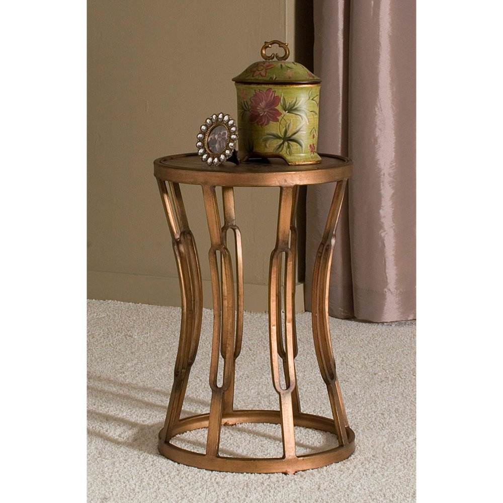 firstime hourglass accent table antique copper master acrylic clear side over sofa arm tall black ceramic drum cherry furniture battery operated indoor lamps small console for