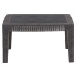 flash furniture dark gray faux rattan coffee table outdoor accent black tables new for sectional antique dining decoration ideas parties small with umbrella hole vintage marble 150x150