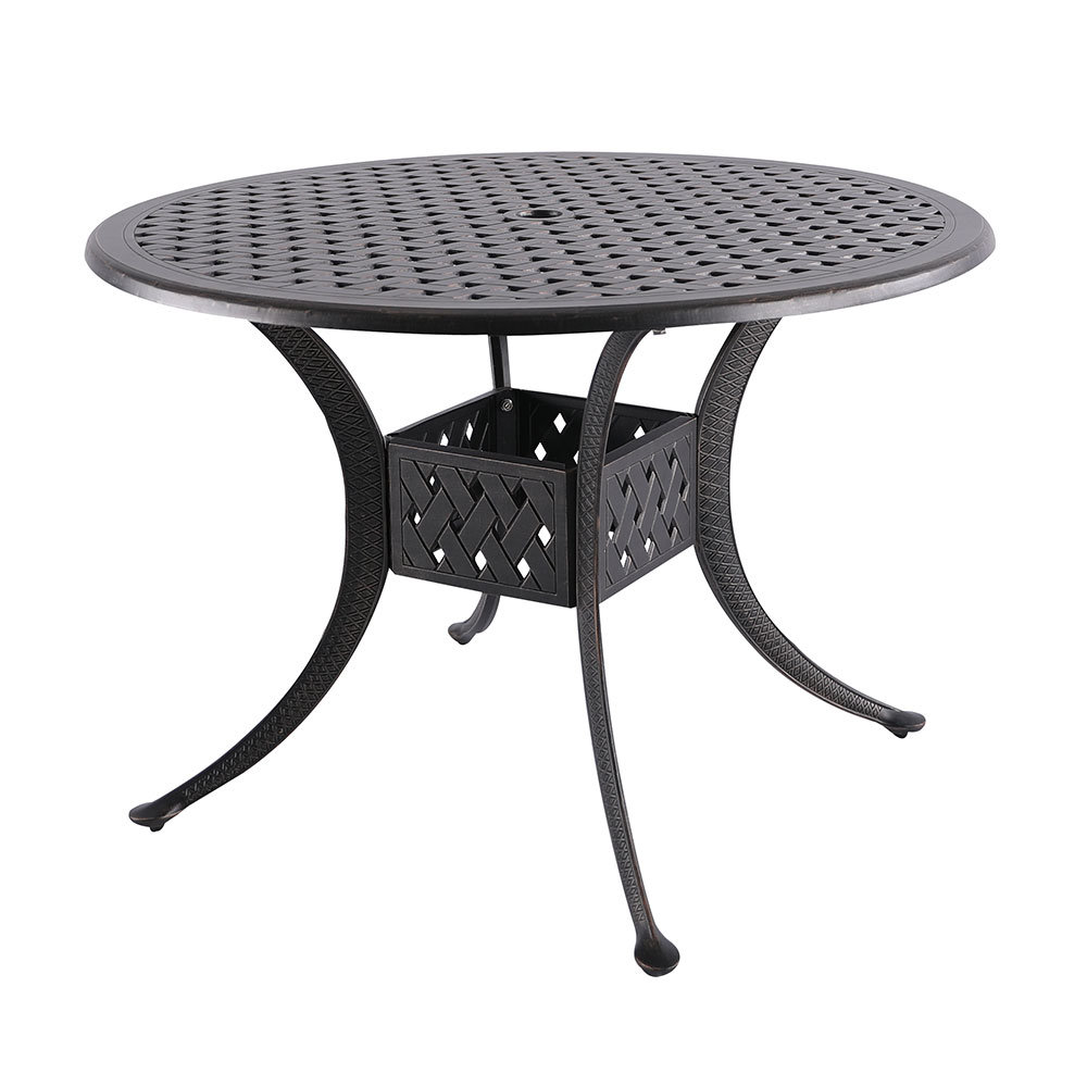 fleur lis living cobblestone dining table middletown accent patio gray metal coffee pub with chairs small end tables target desk plastic outdoor storage furniture companies side