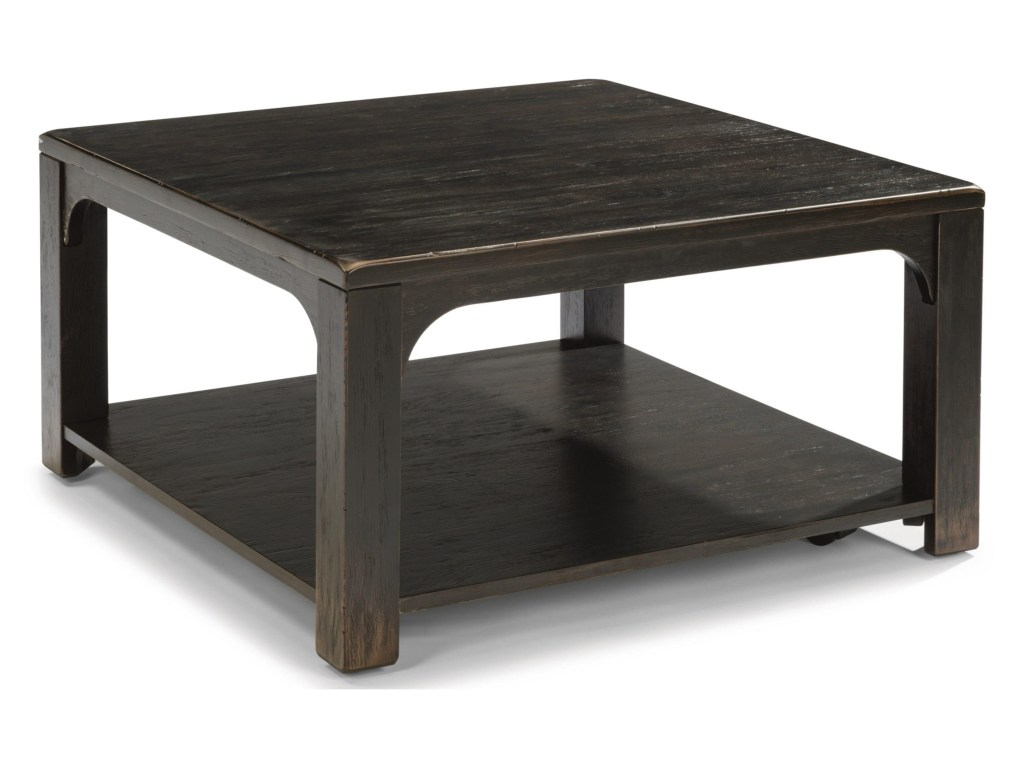 flexsteel wynwood collection homestead rustic square products color threshold parquet accent table cocktail with casters coconis furniture mattress coffee tables outdoor swing