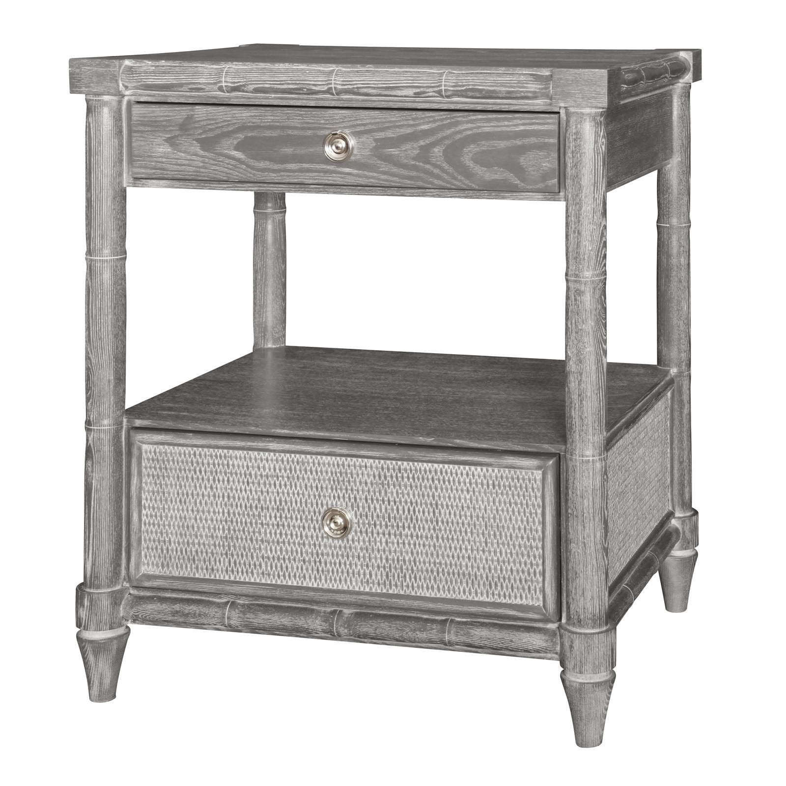 florence drawer side table gray briarwood winsome daniel accent with black finish pottery barn coffee monarch hall console dining decoration accessories bedroom end ideas
