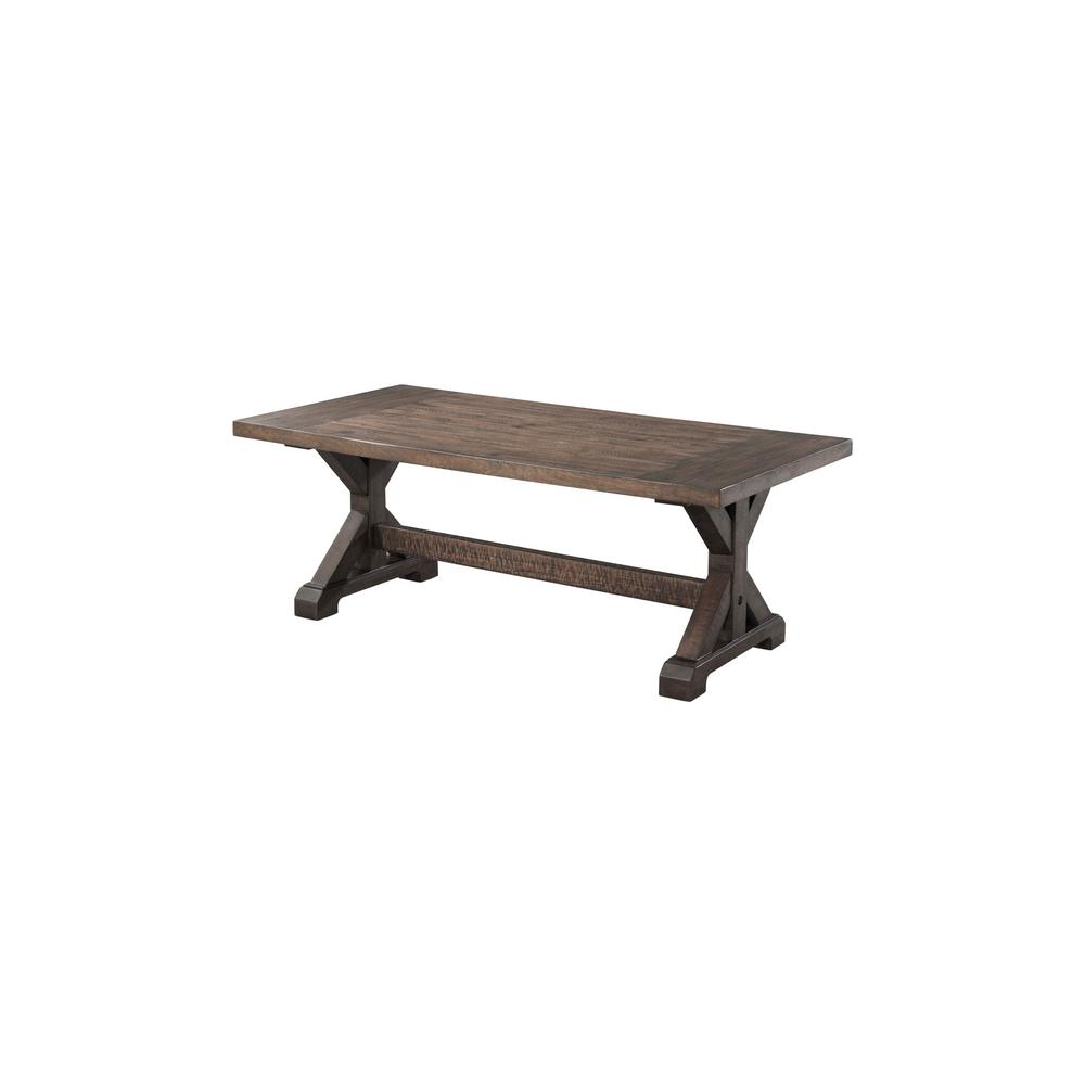 flynn trestle coffee table dark walnut the tables room essentials accent wrought iron outdoor dining free fall runner quilt patterns threshold owings black folding patio side high