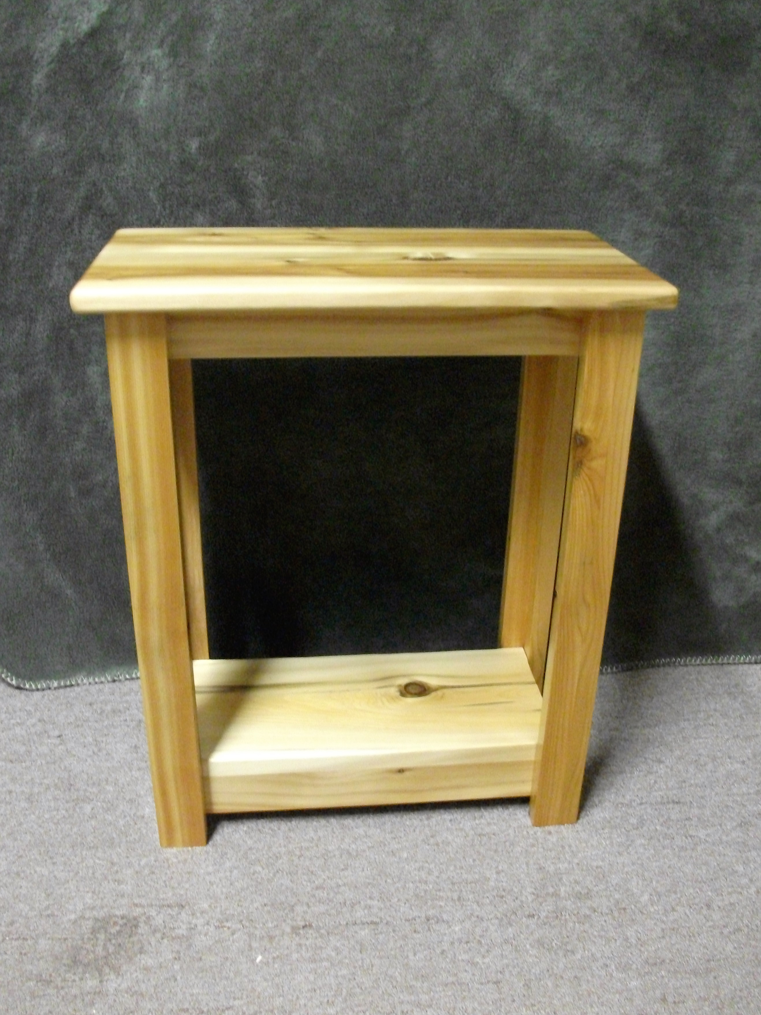 fold away desk the super real rustic cedar end tables white accent table northwoods accents inside dog kennels square lamp makeover ideas antique farm cabinet restoration