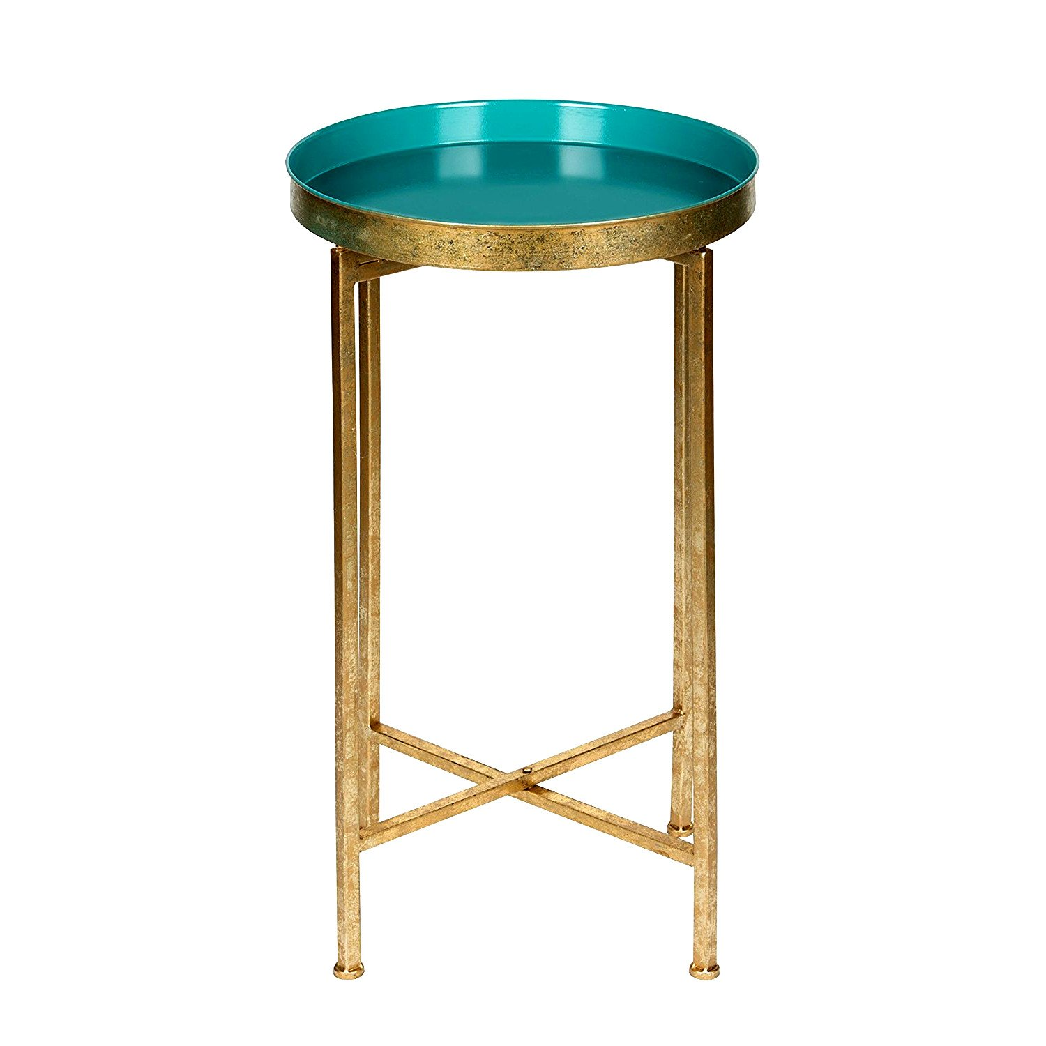 folding end table with removable tray top blue accent lightweight elegant side gold metal round multipurpose small mohawk area rugs arc floor lamp outdoor sectional cover