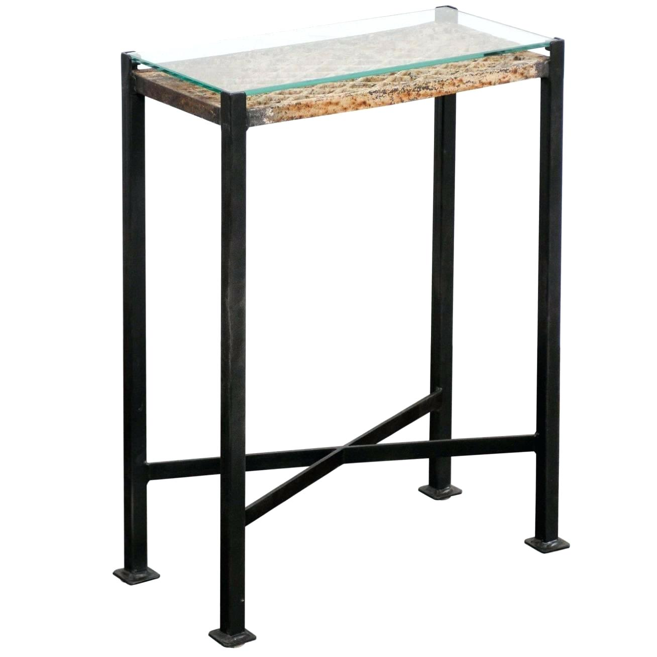 folding low drink table small accent tables bobmervak made from french decorative iron panel custom base round side turquoise console cloth tablecloths stained glass pendant light