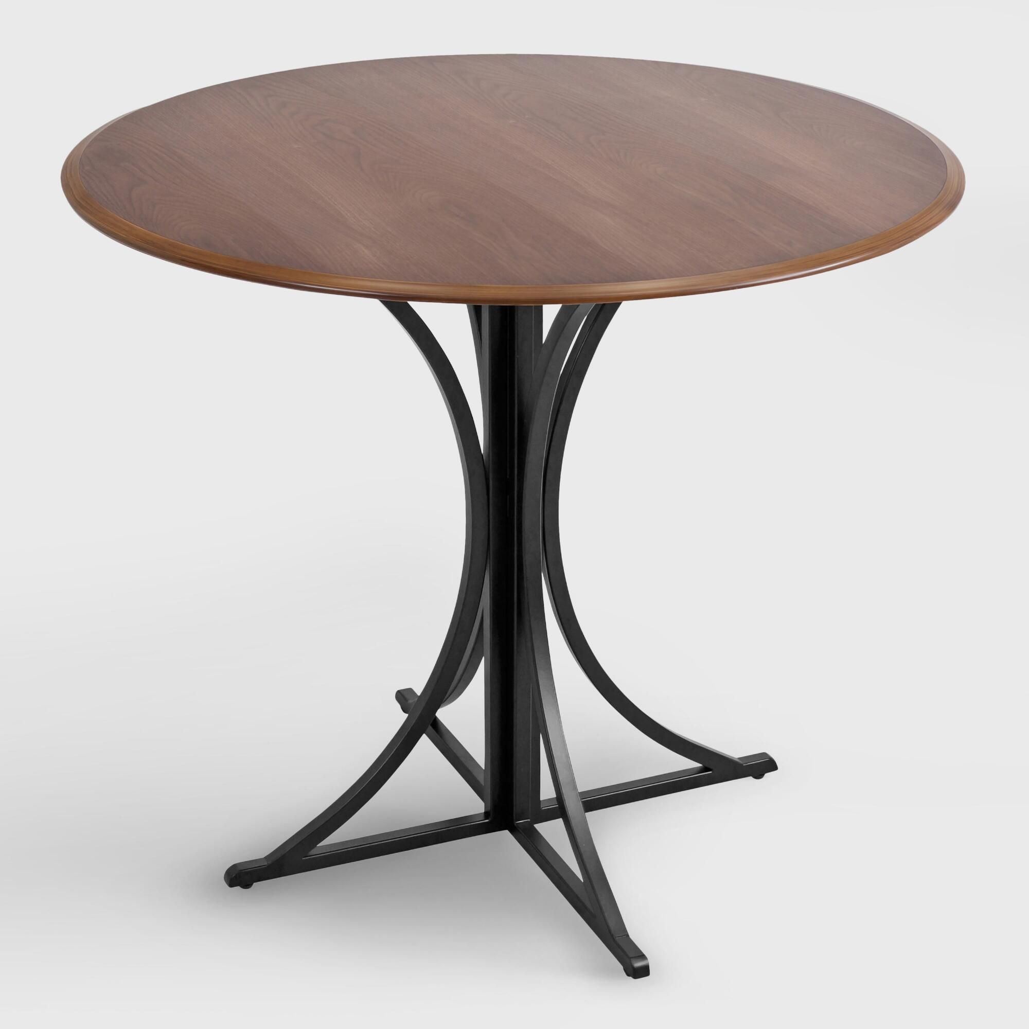 for dynamic look your dining space with this contemporary crate and barrel marilyn accent table featuring square legs tennis rubber west elm tree elephant chair kitchen gallerie