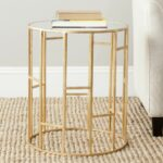 for end tables match every style and budget enjoy hawthorne glass top accent table bronze free shipping round living room high patio with umbrella fall placemats napkins 150x150