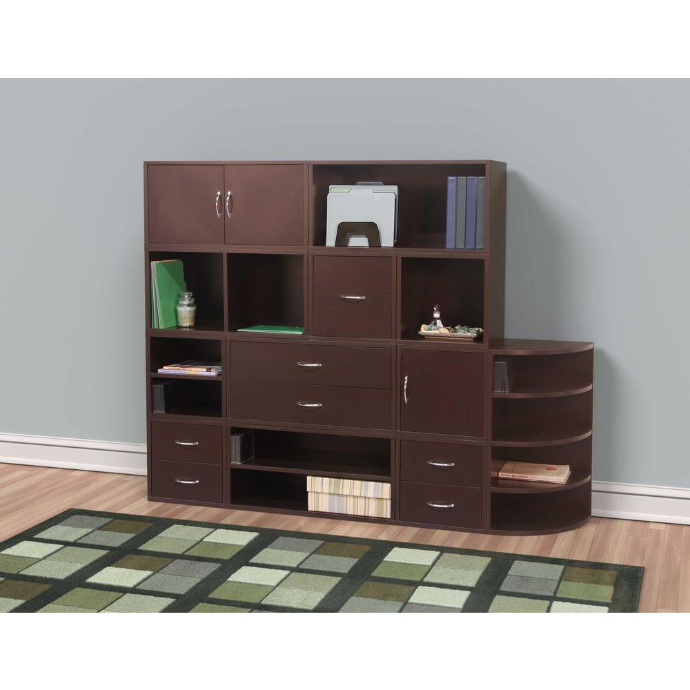 foremost honey door cube organizer the espresso furniture storage accent table target comfy garden chair pier one tray tables cottage coffee unique sofa low for living room black