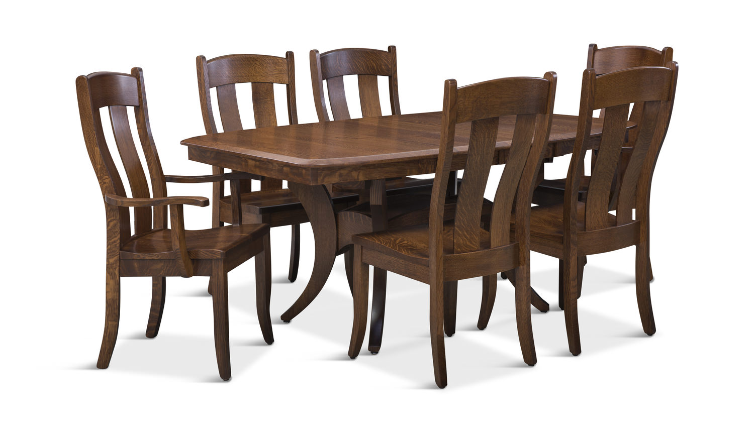 fort knox trestle table with side chairs hom furniture accent and arm uttermost tables slim couch mahogany bedside fur antique leather top end chinese style lamp shades west elm