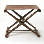 foundry select asotin folding accent stool metal table kennedy wood and iron coffee sets west elm leather ott tables glass pedestal unfinished console cushions vintage drawer 150x150