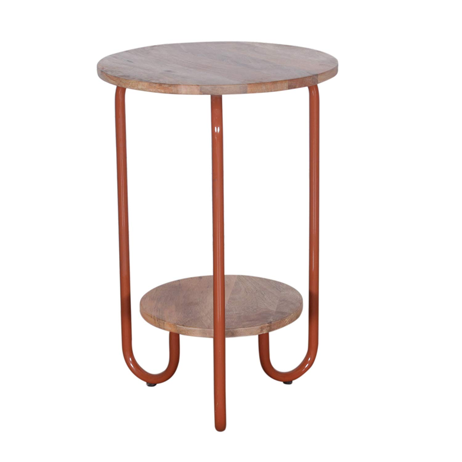four legs multipurpose wooden metal brown round end twisted mango wood accent table side coffee for living room dining outdoor indoor kitchen chairs white cloth swivel ikea
