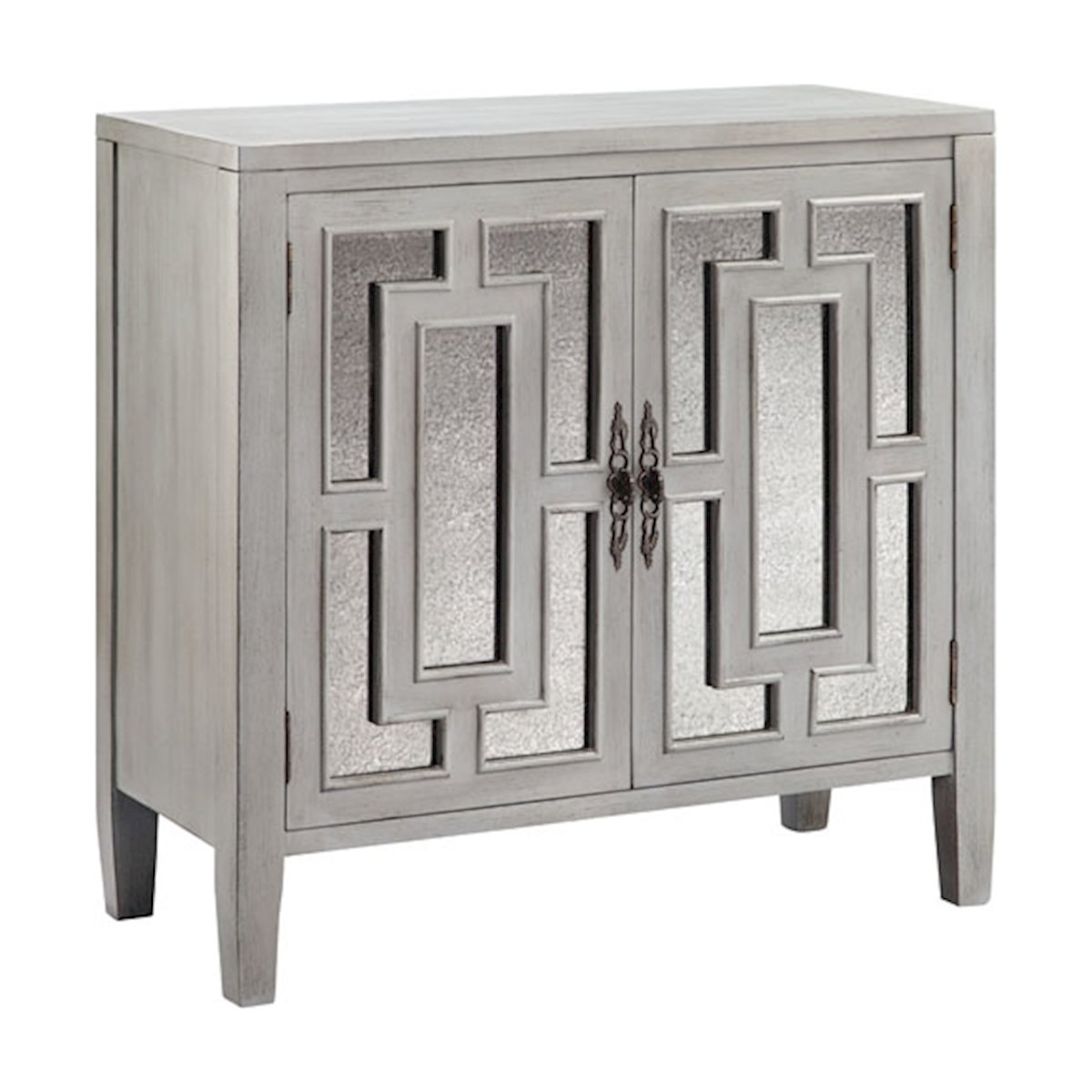 foyer cabinet door accent table with glass doors shaped outdoor furniture cover off white end tables tiffany look alike lamps turquoise placemats and napkins mid century side