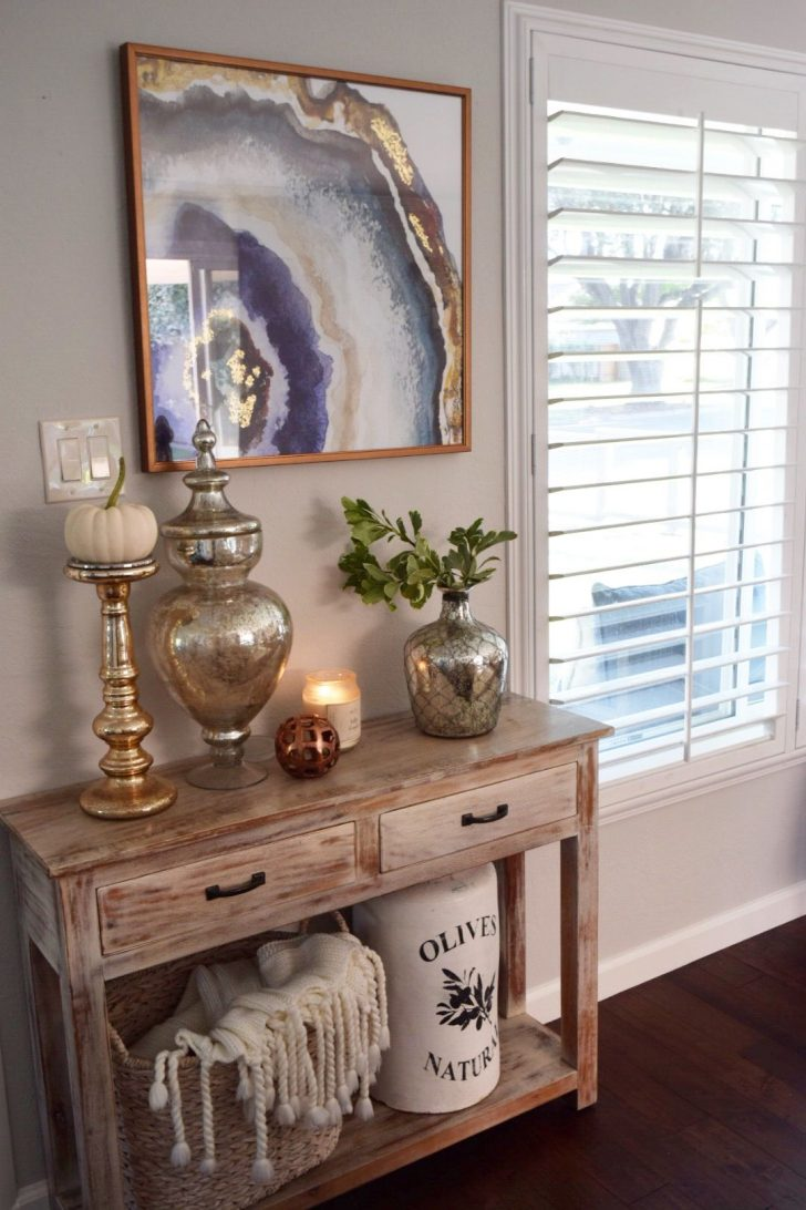 foyer entry table entrance white half moon console inch copper hall tables for extra long sofa clearance mirrored accent chairs ivory chair hobby lobby furniture end dining room