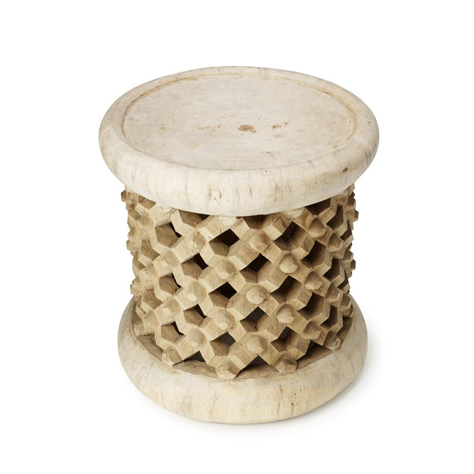 frank natural bamileke stool accent table high gold and glass coffee oak nest tables ikea target bedroom vanity fifties style furniture kohls slipcovers marble nesting drop leaf