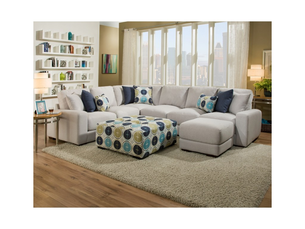 franklin jules sectional sofa with pushup ott furniture and products color collection accent table julessectional wooden plant stand plastic patio umbrella hole drawer console