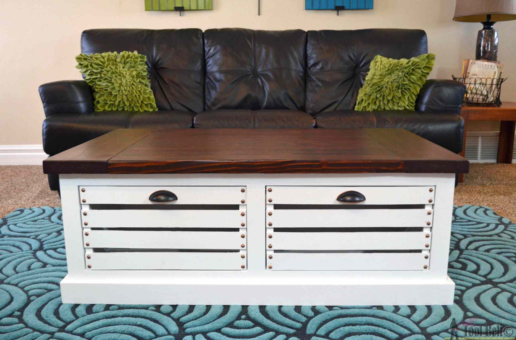 free diy coffee table plans you can build today crate storage front accent living room decoration ideas little white corner and chairs round side with drawer mosaic garden office