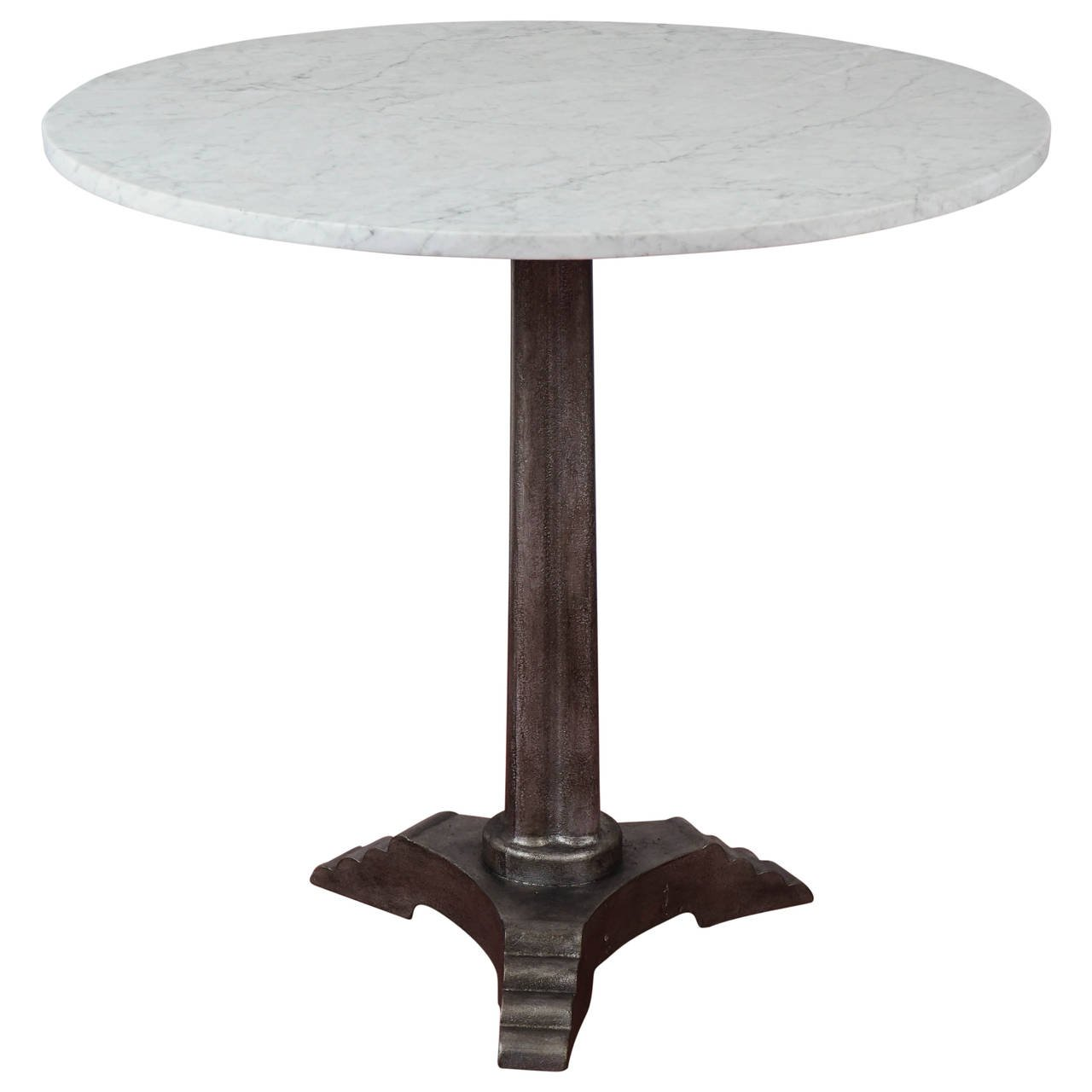 french art deco marble top bistro table accent for lounge covers target shaped side living room packages trunk wine rack kids drum stool cast aluminium garden furniture cherry