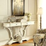 french sanctuary design antique white accent console table free shipping today glass bedside drawers lamps pottery barn flooring black and cream rug quilted runners patterns teak 150x150