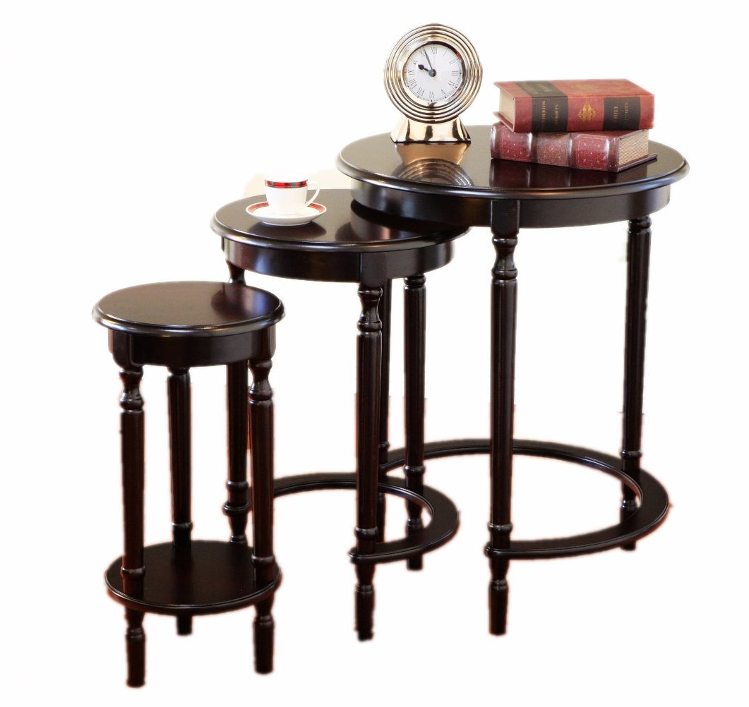 frenchi furniture set round nesting tables cardboard accent table cherry finish kitchen dining chair bunnings outdoor cover side tool chest console long narrow ikea top queen size