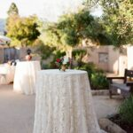 fresco summer santa barbara wedding collection dolce tablecloth for inch round accent table tavola fine linen rental venice lace white graphy megan sorel coordination jill events 150x150