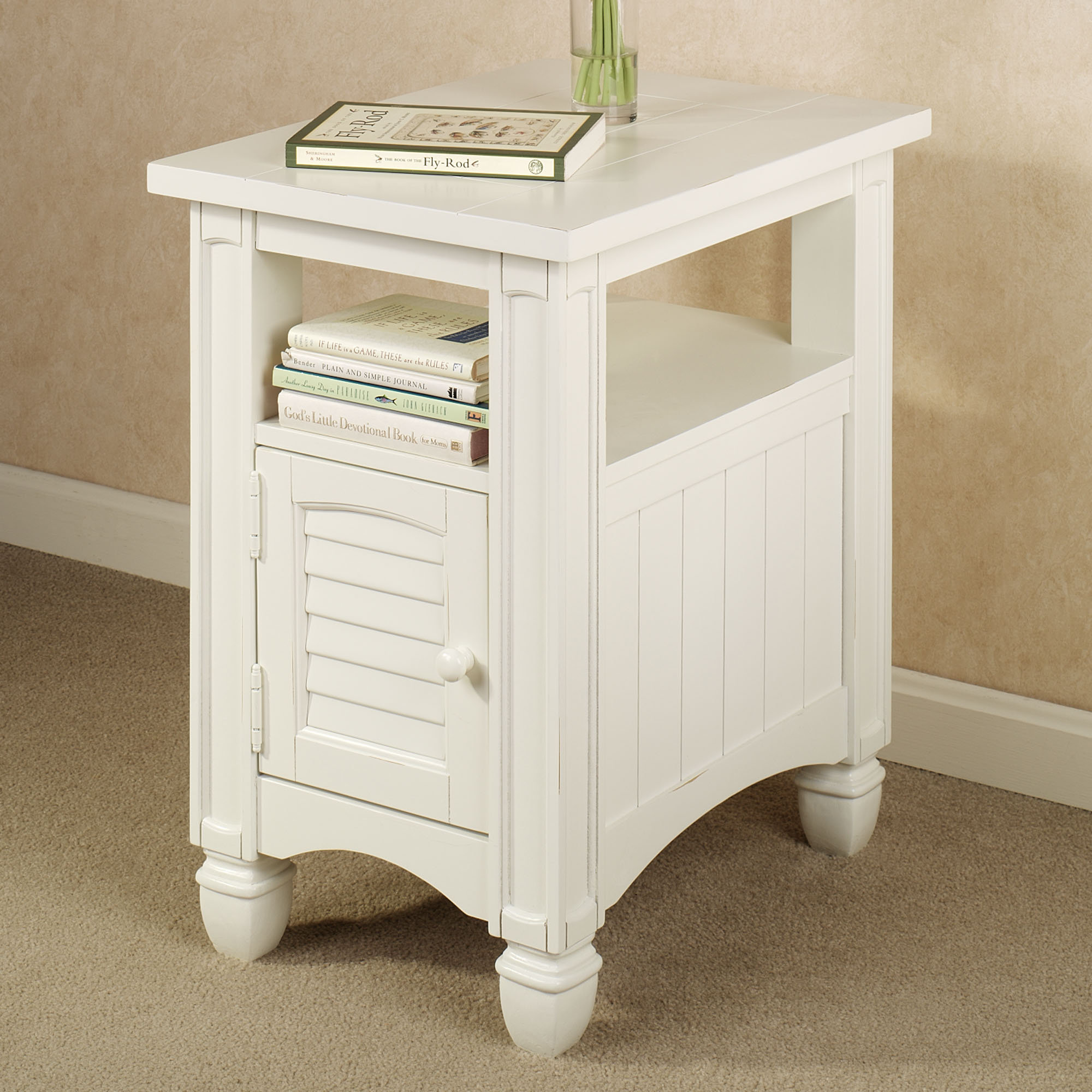 fresh white end table with drawer margate threshold target storage mclaughlin dark wood top basket magazine rack charging station glass door accent small antique marble wooden