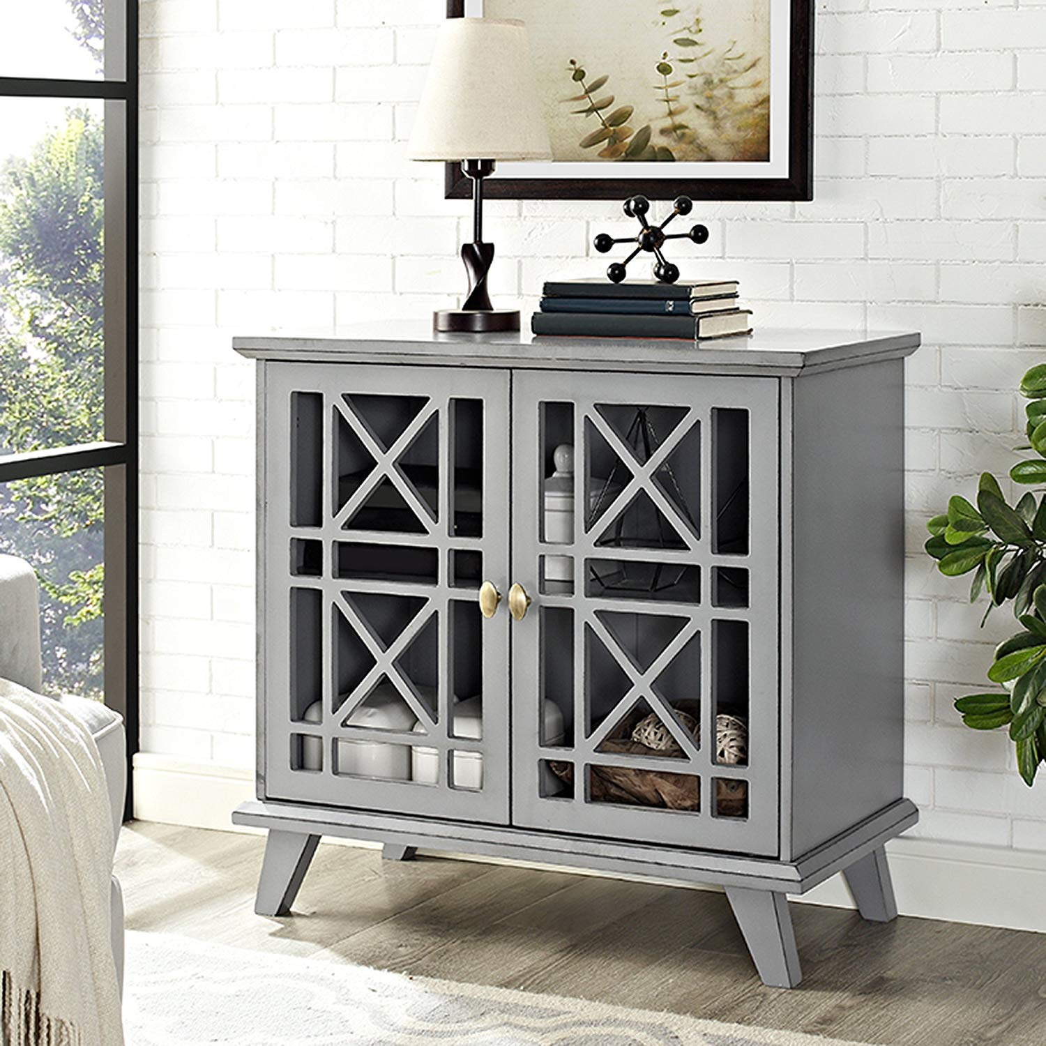 fretwork accent console gray tables threshold table teal garden furniture chairs small wrought iron west elm credenza coffee legs breakfast nautical dining room nate berkus lamp