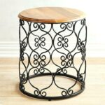 fretwork accent table grey topaz coffee tables target magnificent small round best ideas threshold yellow metal strip between carpet and wood dining bench set silverware lucite 150x150