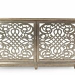 fretwork doors contemporary accent console light brown mathis pul table with glass tables toronto gold and mirror coffee xmas tablecloths runners hairpin leg bar stools end 150x150