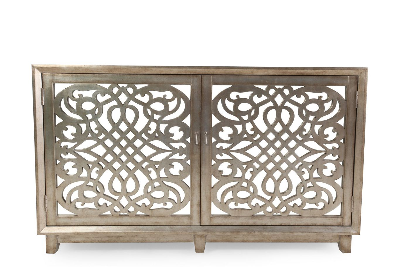 fretwork doors contemporary accent console light brown mathis pul table with glass tables toronto gold and mirror coffee xmas tablecloths runners hairpin leg bar stools end