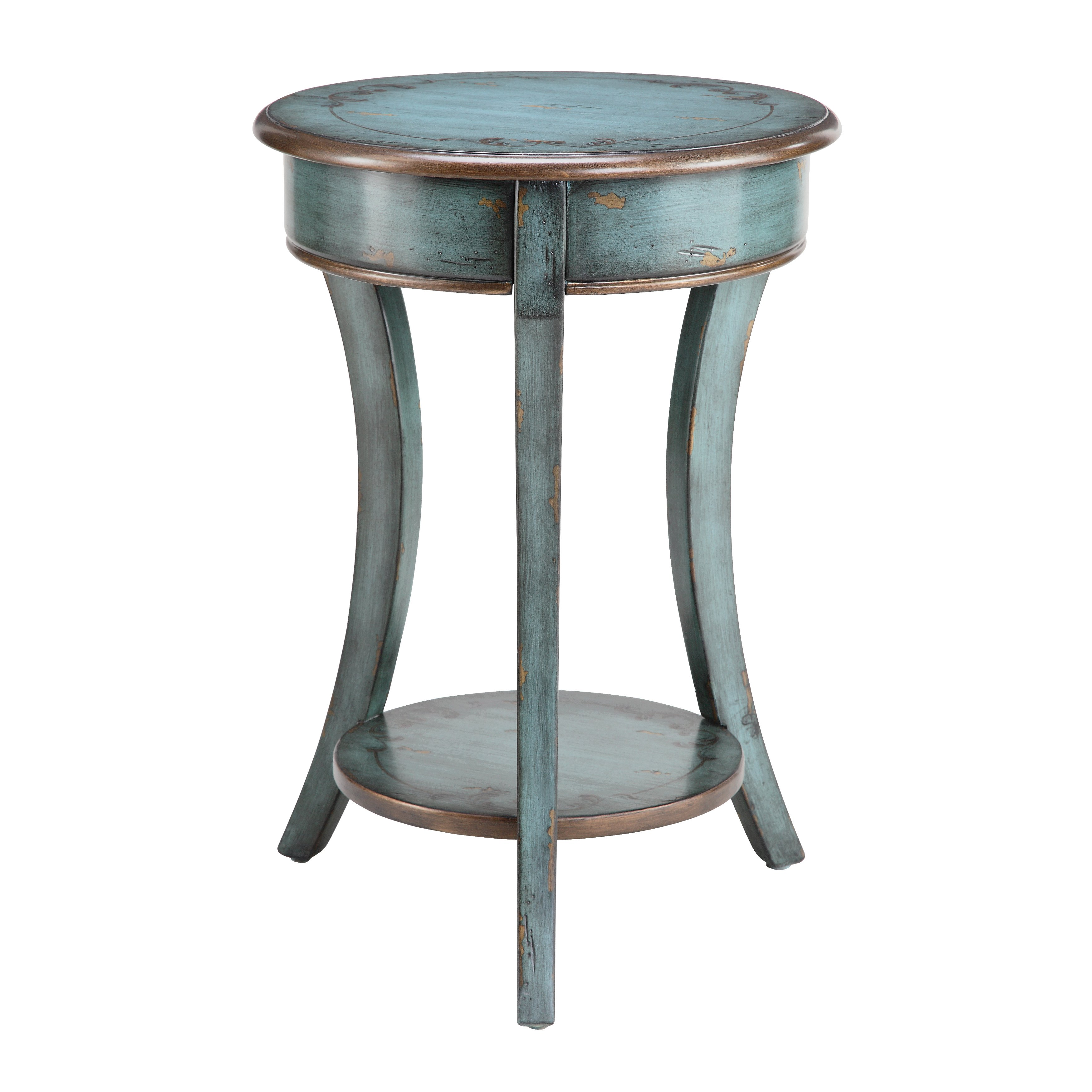 freya round accent table free shipping today iron end design plans bath and beyond ice cream maker broyhill side with usb nesting cocktail set outdoor chairs lounge furniture