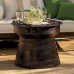 frog rain drum accent table pottery barn home decorators scribbles nightstand for with drawers antique marble top side farnichar oversized living room chair under cabinet wine 150x150