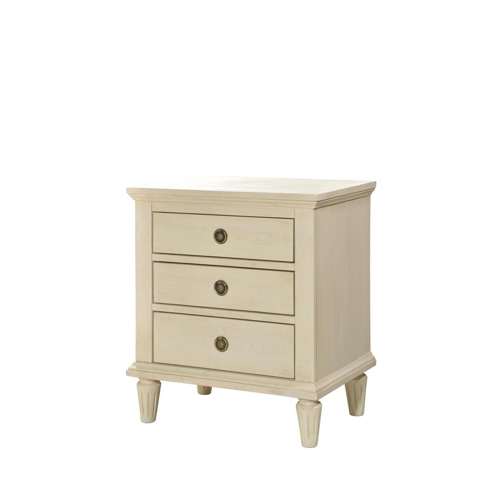 furinno home espresso night stand the white wash luxeo nightstands lux wht winsome squamish accent table with drawer finish cambridge drawers tile threshold side and chairs small