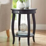 furniture accent table lovely timmy night black new better homes and gardens round with drawer multiple power management metal floor transitions contemporary dining foot 150x150