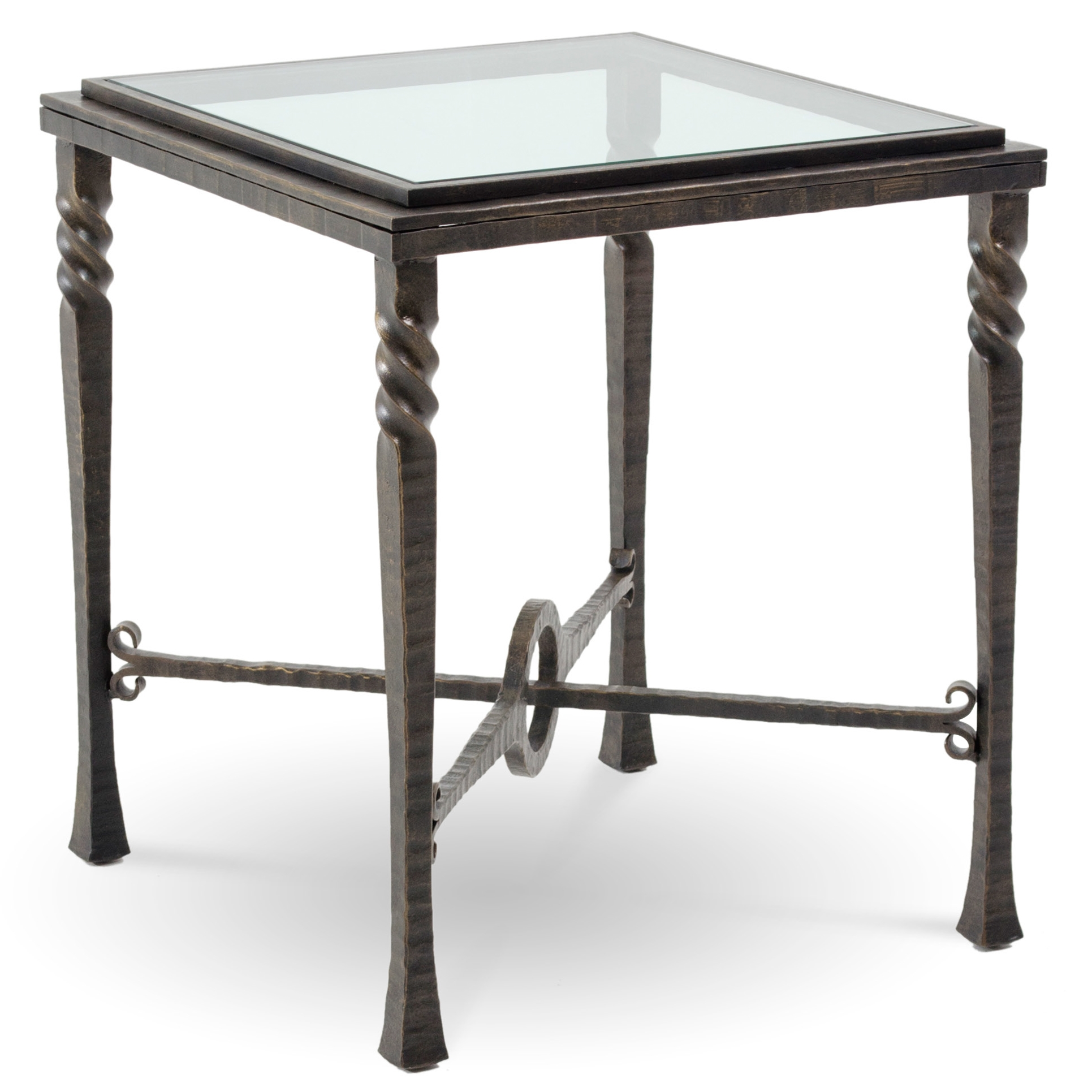 furniture accent tables the outrageous awesome iron base end table omega square with glass top charleston forge twi larger bedroom makeup vanity lights dakota coffee inch side