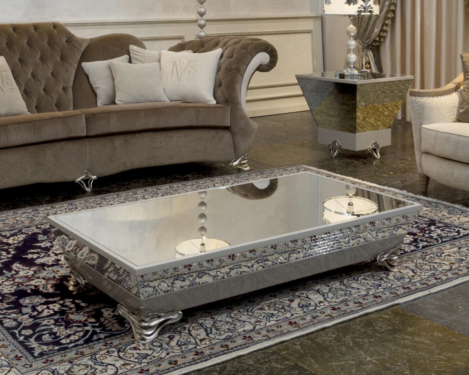 furniture accessories unique modern mirrored glass accent table rectangle purple arabic synthetic area rugs with rectangular antique coffee tables living room unusual shaped