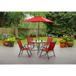 furniture amazing mainstays patio for your outdoor design with perfect sling folding chair and bedding side table bench cushions better umbrella square coffee pottery barn nate 150x150