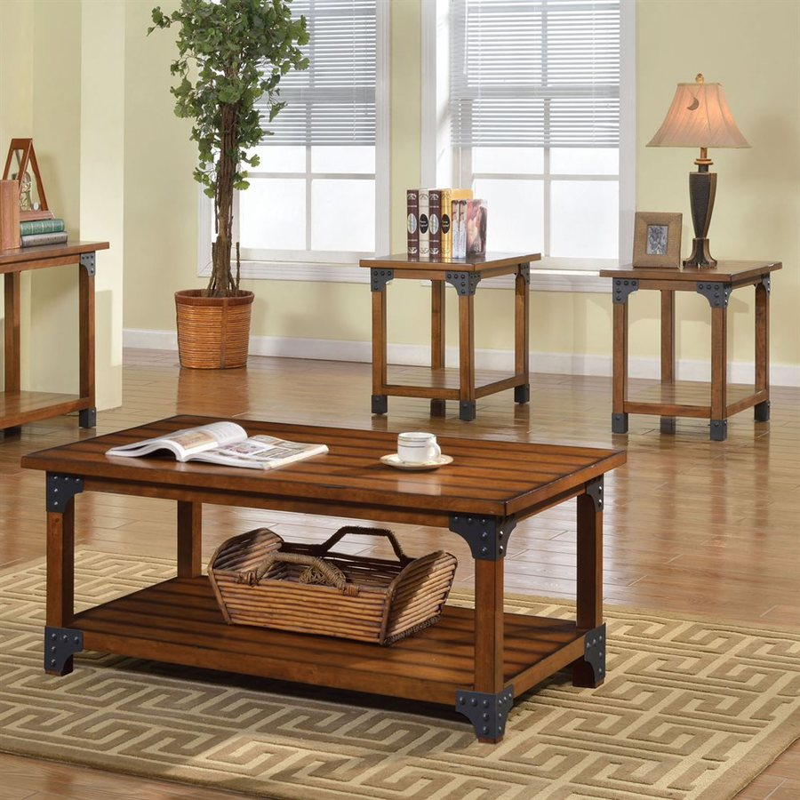 furniture america bozeman piece antique oak asian hardwood accent table set nautical rope lights glass coffee with gold legs round mirror slab elm wood nest tables modern living